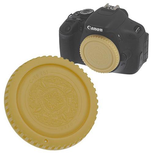 FotodioX Designer Body Cap for Canon EOS EF & EF-S Cameras (Gold)