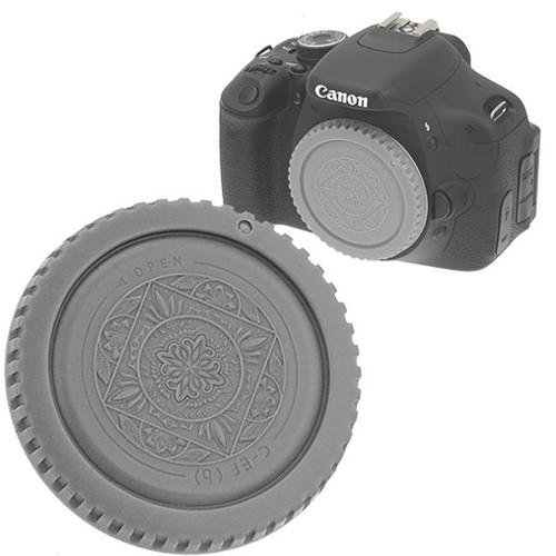 FotodioX Designer Body Cap for Canon EOS EF & EF-S Cameras (Gray)