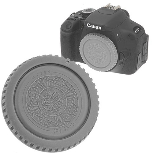 FotodioX Designer Body Cap for Canon EF Mount Cameras (Gray)