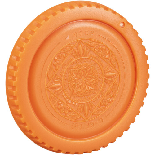 FotodioX Designer Body Cap for Canon EOS EF & EF-S Cameras (Orange)