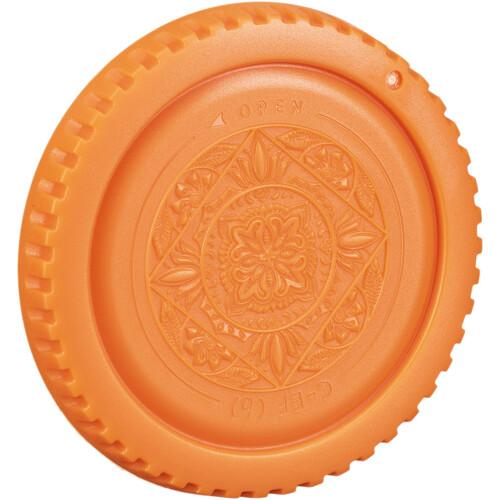 FotodioX Designer Body Cap for Canon EF Mount Cameras (Orange)