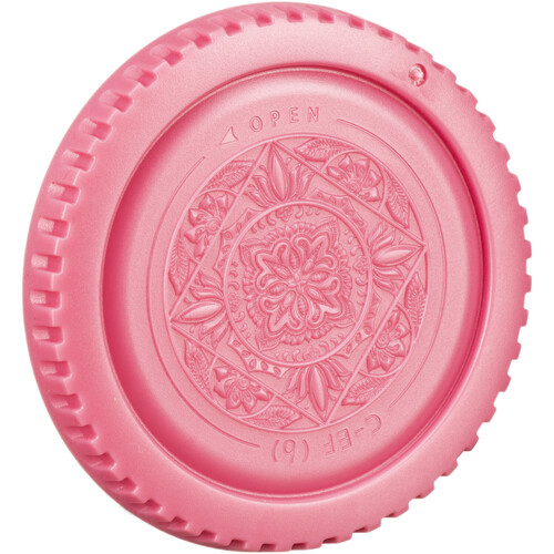 FotodioX Designer Body Cap for Canon EF Mount Cameras (Pink)