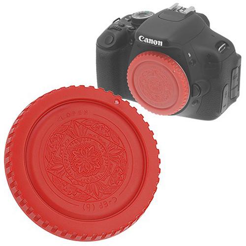 FotodioX Designer Body Cap for Canon EOS EF & EF-S Cameras (Red)