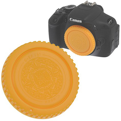 FotodioX Designer Body Cap for Canon EF Mount Cameras (Yellow)