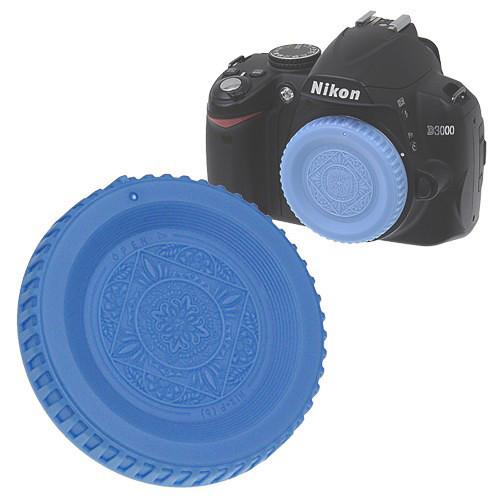 FotodioX Designer Body Cap for Nikon F SLR/DSLR Cameras (Blue)