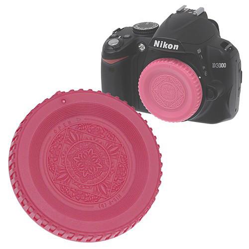 FotodioX Designer Body Cap for Nikon F SLR/DSLR Cameras (Pink)