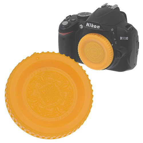 FotodioX Designer Body Cap for Nikon F Mount Cameras (Yellow)