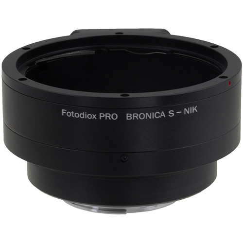 FotodioX Pro Mount Adapter for Bronica S Lens to Nikon F-Mount Camera