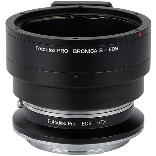 FotodioX Pro Lens Mount Adapter Kit for Bronica S-Mount Lens to Fujifilm G-Mount Camera