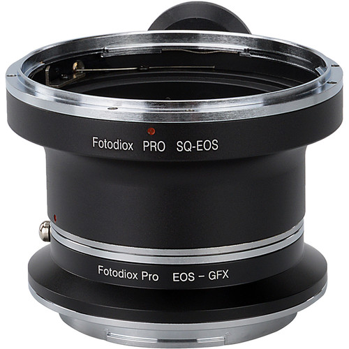 FotodioX Pro Lens Mount Adapter Kit for Bronica SQ-Mount Lens to Fujifilm G-Mount Camera