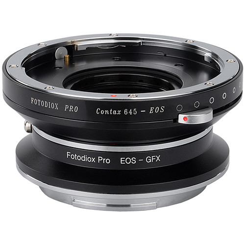 FotodioX Pro Lens Mount Adapter Kit for Contax 645-Mount Lens to Fujifilm G-Mount Camera