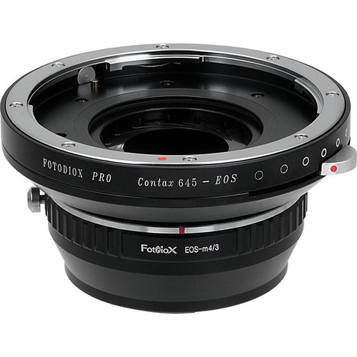 FotodioX Pro Mount Adapter for Contax 645 Lens to Micro Four Thirds Camera