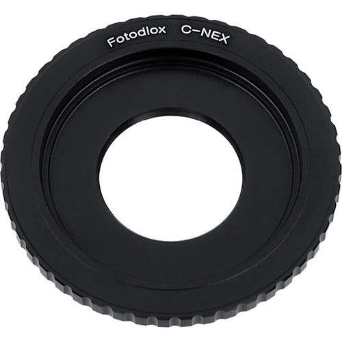 FotodioX Lens Mount Adapter C-Mount CCTV/Cine Lens to Sony Alpha E-Mount (Mirrorless)