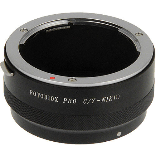 FotodioX Contax/Yashica Pro Lens Adapter for Nikon 1 Cameras