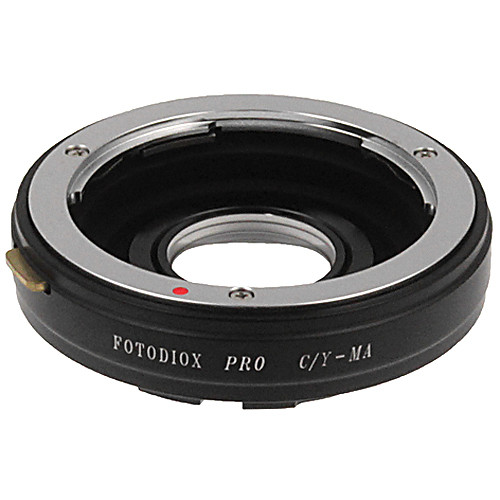 FotodioX Pro Lens Mount Adapter for Contax/Yashica Lens to Sony A Mount Camera