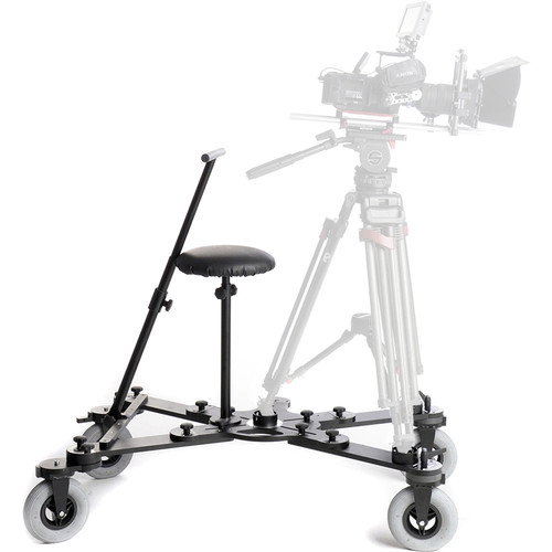 FotodioX CamDolly Cinema System with 2 x 50' Rolls of Flexible SnakeTrack