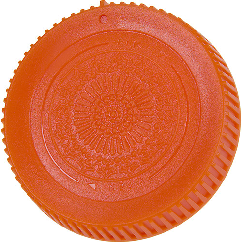 FotodioX Rear Lens Cap for Nikon Z Mount Lenses (Orange)