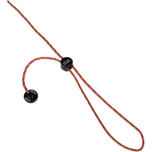 FotodioX Pro CapTrap Lens Cap Keeper and Safety Cord (Orange/Black)