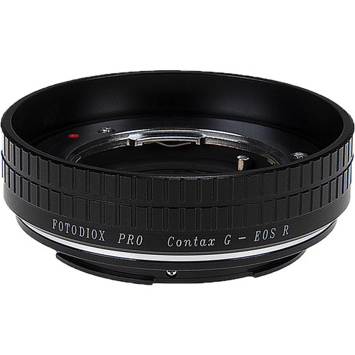 FotodioX Pro Lens Mount Adapter for Contax G Lenses to Canon RF Mount