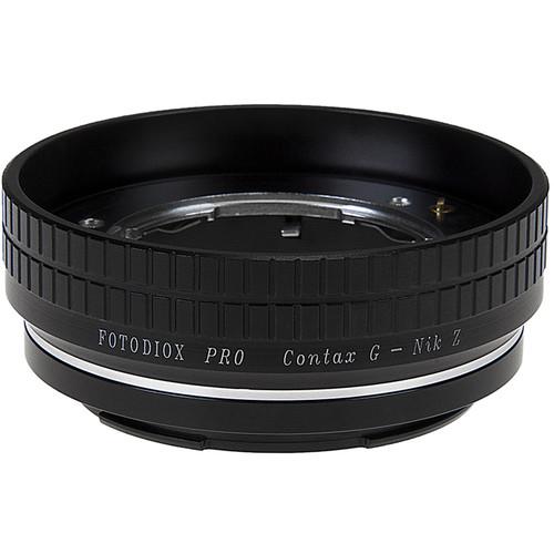 FotodioX Contax G Lens to Nikon Z-Mount Camera Pro Lens Adapter