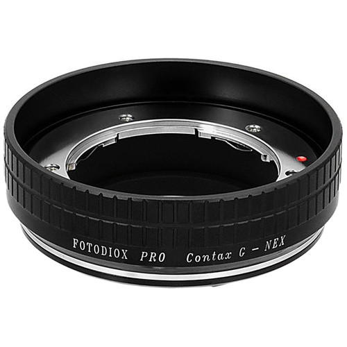 FotodioX Pro Mount Adapter for Contax G Lens to Sony E-Mount Camera