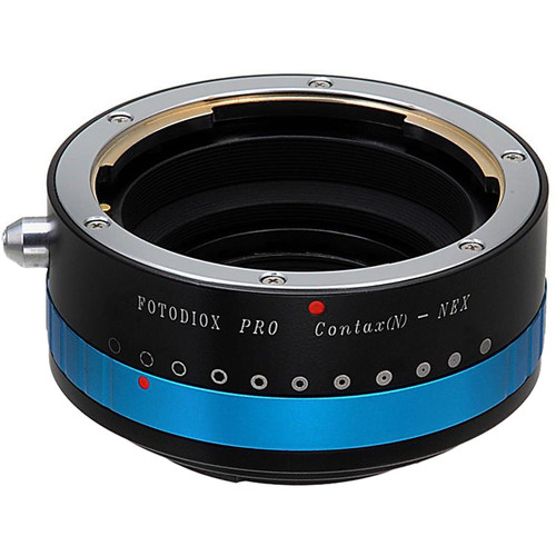FotodioX Pro Lens Mount Adapter for Contax N SLR Lens to Sony Alpha E-Mount (Mirrorless)