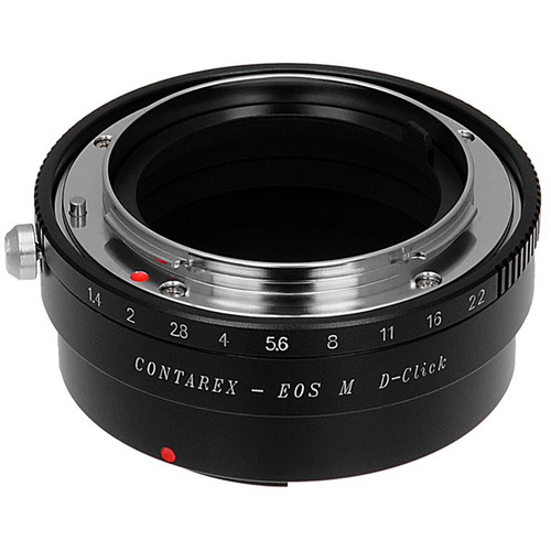 FotodioX Pro Lens Mount Adapter for Contarex-Mount Lens to Canon EF-M Mount Camera