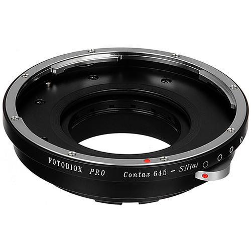 FotodioX Pro Lens Mount Adapter for Contax 645-Mount Lens to Sony A-Mount Camera