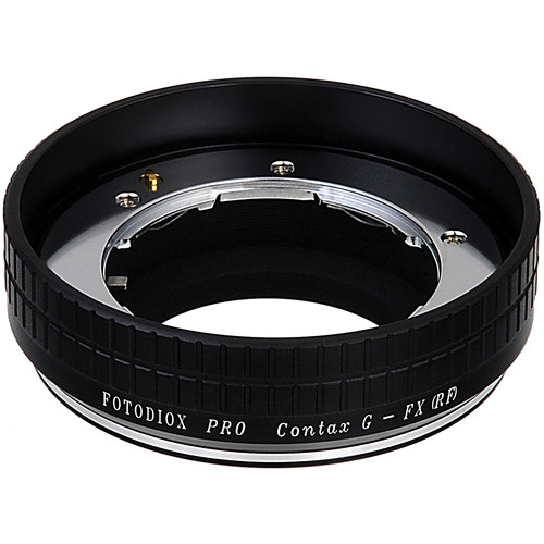FotodioX Contax G Pro Lens Adapter for Fujifilm X-Mount Cameras