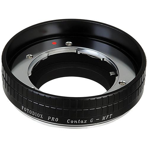 FotodioX Contax G Pro Lens Adapter for Micro Four Thirds Cameras