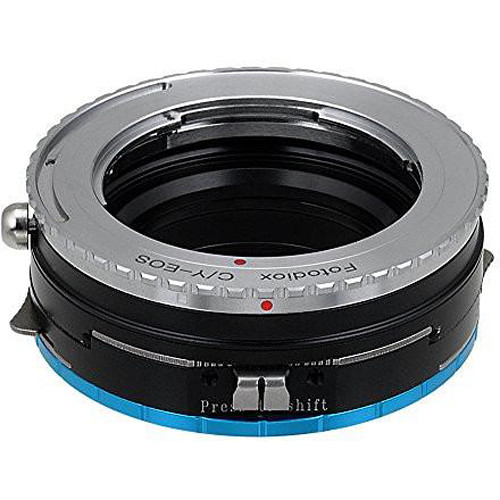 FotodioX Pro Shift Mount Adapter for Contax/Yashica Lens to Fujifilm X-Mount Camera