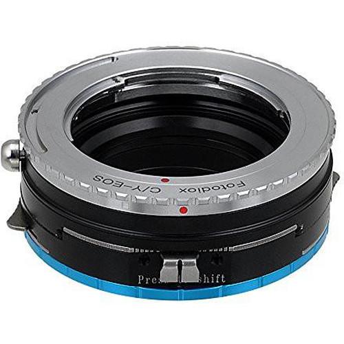 FotodioX Pro Lens Mount Shift Adapter Contax/Yashica SLR Lens to Fujifilm Fuji X-Series (Mirrorless)