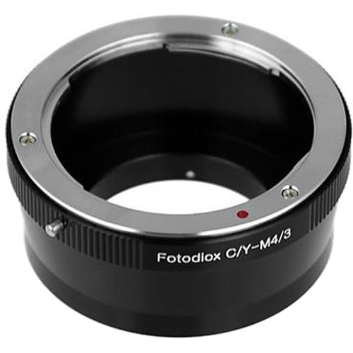 FotodioX Mount Adapter for Contax/Yashica Lens to Micro Four Thirds Camera