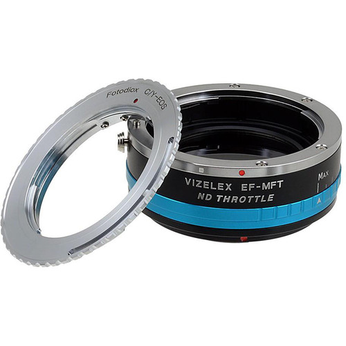 FotodioX Contax/Yashica Lens to Micro Four Thirds Camera Vizelex ND Throttle Adapter