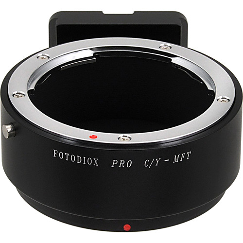 FotodioX Pro Lens Mount Adapter for Contax-Yashica Mount Lens to Micro Four Thirds Mount Camera