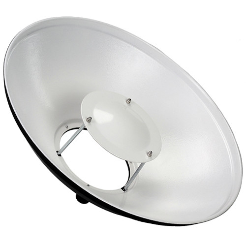 "FotodioX Pro Beauty Dish for Balcar and White Lightning Flash Heads (16"")"