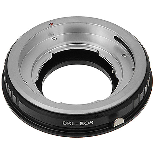 FotodioX Pro Lens Mount Adapter for DKL Lens to Canon EF-Mount Camera