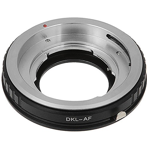 FotodioX Pro Lens Mount Adapter for DKL Lens to Sony A Mount Camera