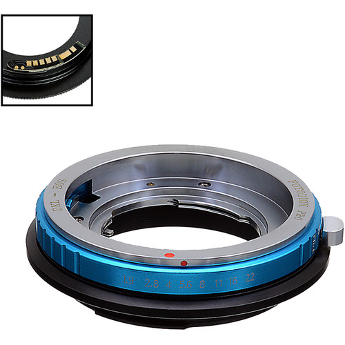 FotodioX Pro Lens Mount Adapter with Generation v10 Focus Confirmation Chip for Deckel-Mount Lens to Canon EF or EF-S Mount Camera