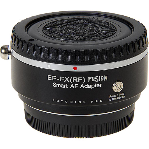 FotodioX Pro Fusion Smart Auto Focus Adapter for Canon EF/-S-Mount Lens to FUJIFILM X-Mount Camera