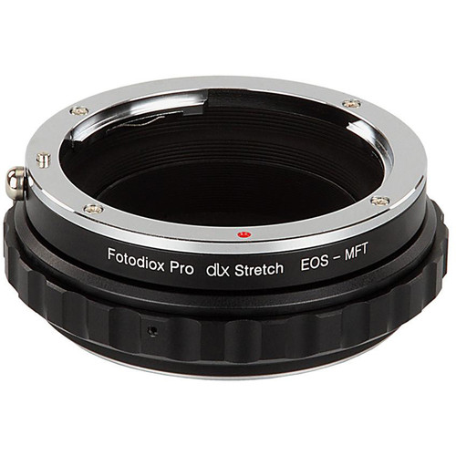 FotodioX Canon EF/EF-S Lens to Micro Four Thirds DLX Stretch Adapter