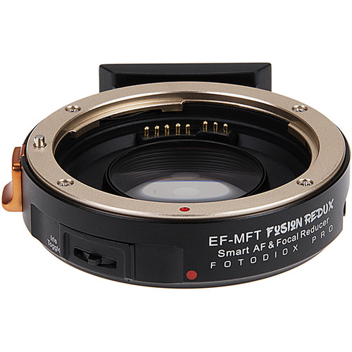 FotodioX Pro Fusion Redux Smart AF Adapter for Canon EF Lens to Micro Four Thirds Camera