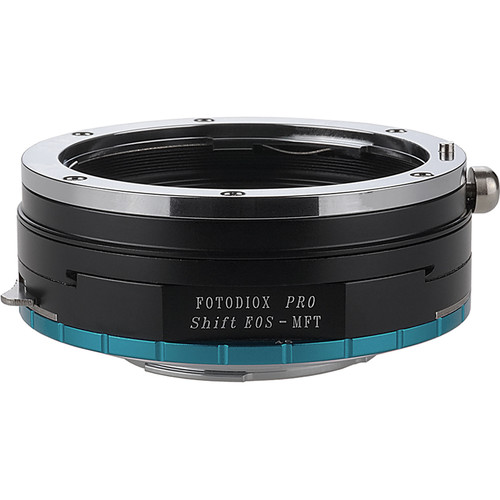 FotodioX Pro Shift Mount Adapter for Canon EOS Lens to Micro Four Thirds Camera