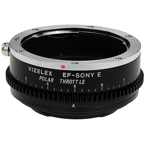 FotodioX Canon EF/EF-S Lens to Sony E-Mount Camera Vizelex Polar Throttle Adapter