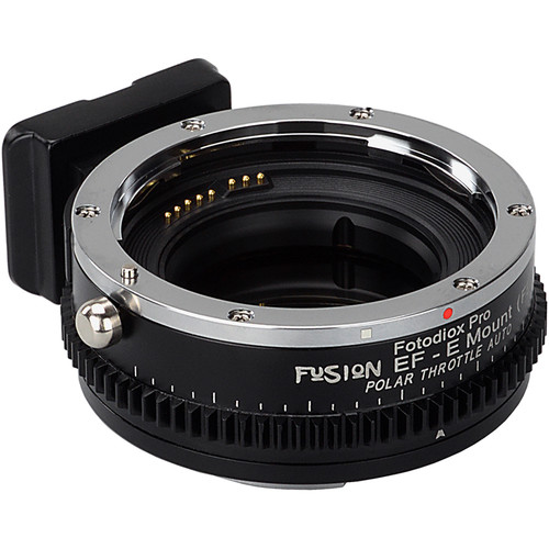 FotodioX Canon EF Lens to Sony E-Mount Camera Vizelex Polar Throttle Auto Adapter