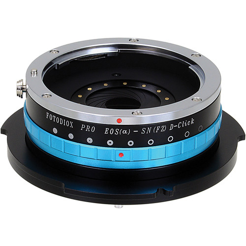 FotodioX Pro Lens Mount Adapter Canon EOS EF/EF-S to Sony FZ Mount (Iris)