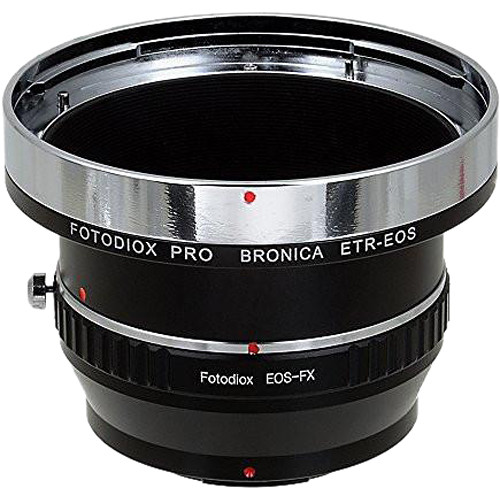 FotodioX Pro Mount Adapter for Bronica ETR Lens to Fujifilm X Camera