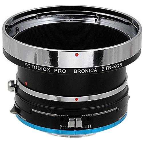 FotodioX Pro Lens Mount Shift Adapter for Bronica ETR Mount SLR Lenses to Fujifilm Fuji X-Series (Mirrorless)