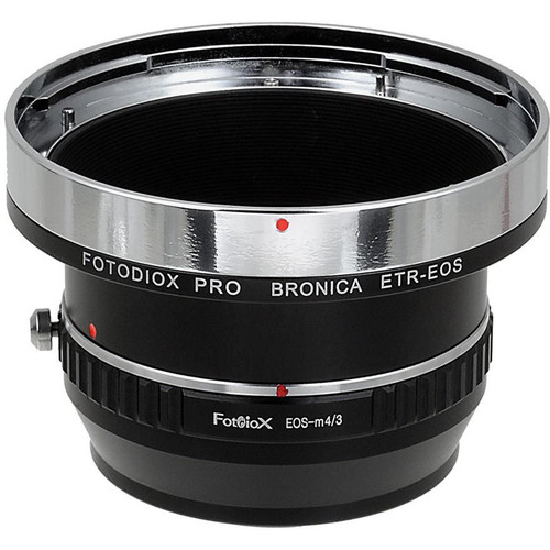 FotodioX Pro Mount Adapter for Bronica ETR Lens to Micro Four Thirds Camera