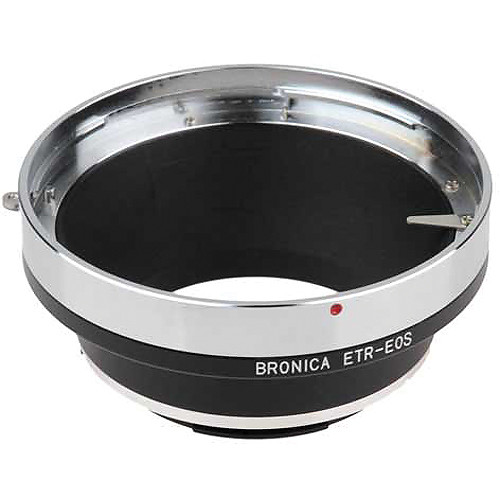FotodioX Pro Lens Mount Adapter for Bronica ETR Lens to Canon EF-Mount Camera